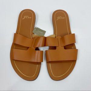 J. Crew Cyprus Sandals with Interlocking Straps